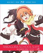 Mikagura School Suite: The Complete Series , Monica Rial