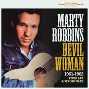 Devil Woman: Four LPs & Six Singles 1961-1962 [Import] , Marty Robbins