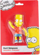 "Bart Simpson 4.5"" Bendable Figure"