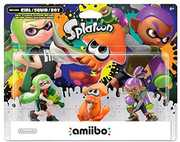 Amiibo: Splatoon Series: Alternate Colors 3 Pack for Nintendo Wii U