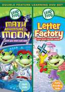 Math Adventures To The Moon/ Letter Factory