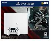 Sony PlayStation 4 Pro 1TB Console - Destiny 2 Bundle: White