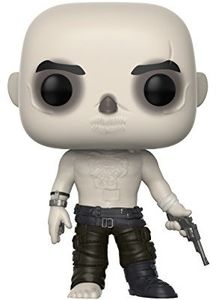 FUNKO POP! MOVIES: Mad Max Fury Road - Nux Shirtless/  WHSkin / ChromeMask