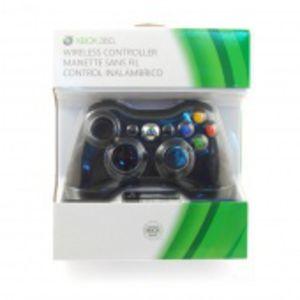 Microsoft Wireless Controller: Black for Xbox 360