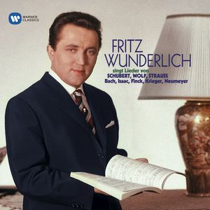 Schubert Strass Wolf: Lieder , Fritz Wunderlich