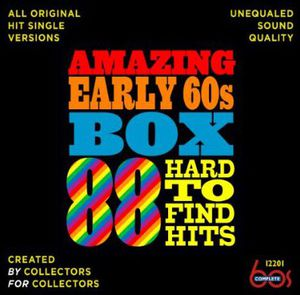 Amazing Early 60s Box: 88 Hard-To-Find Hits /  Various , Various Artists