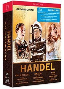 Handel: Giulio Cesare Rinaldo Saul [Box Set]