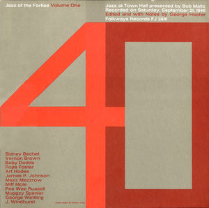 Jazz Forties 1: Town Hall /  Various , Various Artists