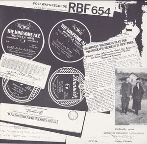 Dock Boggs - His Twelve Original Recordings , Dock Boggs