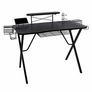 Atlantic 33950212 Gaming Desk Pro Organizer Black