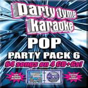 Party Tyme Karaoke: Pop Party Pack 6 , Various Artists