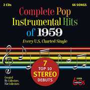 Complete Pop Instrumental Hits of 1959 /  Various , Various Artists