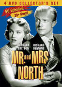 Mr. and Mrs. North: 4 DVD Collector's Set , Barbara Britton