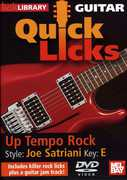 Quick Licks: Joe Satriani Up Tempo Rock - Key: E , Danny Gill