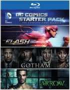 DC Comics Starter Pack: The Complete First Seasons: The Flash /  Gotham /  Arrow