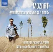 Mozart: Violin Concertos Nos. 3 4 & 5