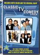 Classic TV Comedy 3-Pack , The Three Stooges