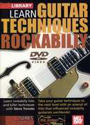 Learn Guitar Techniques: Rockabilly Brian Setzer Style , Steve Trovato