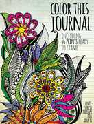 Color This Journal: Anti-Stress Therapy For Adults