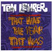That Was the Year That Was , Tom Lehrer