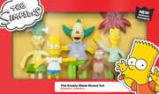 NJ Croce The Simpsons The Krusty The Clown Show - Boxed Set NewReissued Packaging 5-PC Bendable Figures
