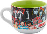 Beatles Album Collage 20 oz. Ceramic Soup Mug