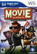 Family Fun Fest Presents Movie Games for Nintendo Wii