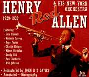 His New York Orchestra 1929-30 , Henry Allen Red