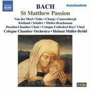St Matthew Passion , Helmut M ller-Br hl