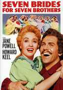 Seven Brides For Seven Brothers [Full Frame] [Repackaged] [Eco Amaray] , Howard Keel