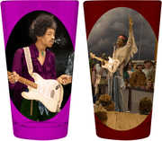 Jimi Hendrix 2-Pack Pint Glass Set