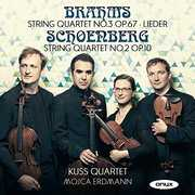 Brahms And Schoenberg: String Quartets