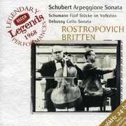 Arpeggione Sonata /  Funf Stucke Im Volkston , Mstislav Rostropovich