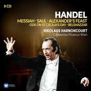Handel: Oratorios: Messiah, Saul, Alexander's Feast, Belshazzar, Ode y