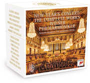 New Years Concert: The Complete Works , Wiener Philharmoniker