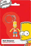 "Bart Simpson 2.5"" Bendable Keychain"