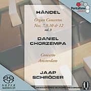 Organ Concertos 7 9 10 & 12 , Daniel Chorzempa