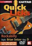 Quick Licks: Brian Setzer Rockabilly - Key: D , Steve Trovato