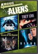 4 Movie Midnight Marathon Pack: Aliens , Savanna Samson