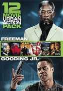 12 Movie Urban Action Pack , Morgan Freeman
