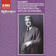 Schubert: 3 Late Sonatas Favorite Imprtomptus , Arthur Schnabel