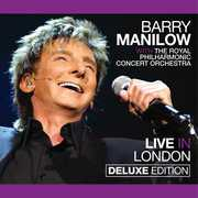 Live in London , Barry Manilow