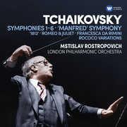 Symphonies 1-6 /  Manfred Symphony /  Francesca Da , Mstislav Rostropovich