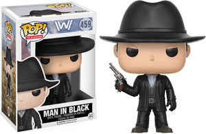 FUNKO POP! TELEVISION: Westworld - The Man In Black