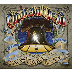 Crimson White & Indigo July 7 1989 JFK Stadium , The Grateful Dead