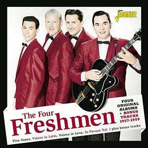 Four Original Albums + Bonus Tracks 1957-1959 [Import] , The Four Freshmen