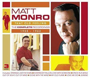 That Old Feeling: Complete Recordings 1955-1962 [Import] , Matt Monro