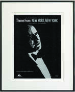 Theme from New York, New York Framed Sheet Music