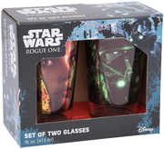 Star Wars R1 2 pc. 16 oz. Laser Decal Glass Set