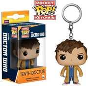 FUNKO POCKET POP! KEYCHAIN: Doctor Who - Tenth Doctor